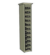 Double wine rack - Click here to view this product