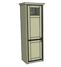 Spindle larder cupboard - Click here to view this product