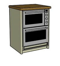 Built under double oven - Click here to view this product