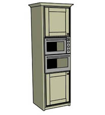 Double oven housing - Click here to view this product