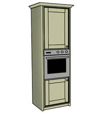 Single oven housing - Click here to view this product