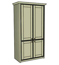 Double larder cupboard - Click here to view this product