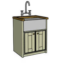 Belfast sink unit - Click here to view this product