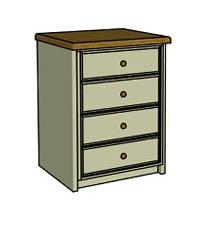 Four drawer  - Click here to view this product