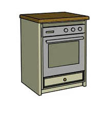 Built under single oven  - Click here to view this product