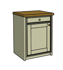 Drawer & door bin unit  - Click here to view this product